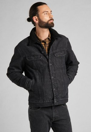 Denim jacket - black stone
