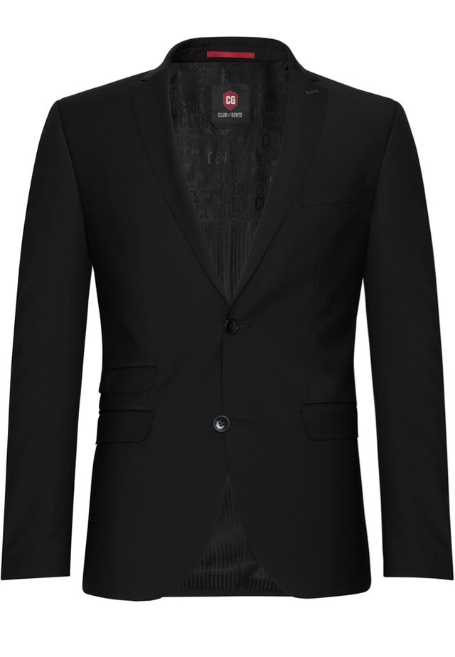 CLIFF-SHARP FIT - Suit jacket - schwarz