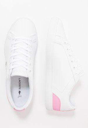LEROND - Baskets basses - white/light pink