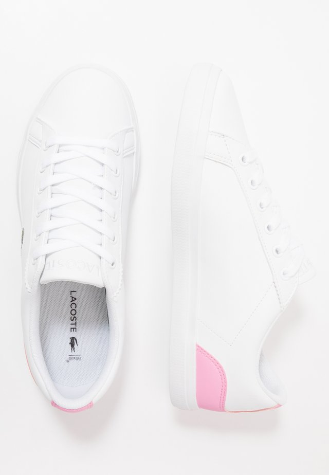 LEROND - Trainers - white/light pink