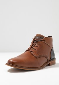Bullboxer - Lace-up ankle boots - cognac - 2
