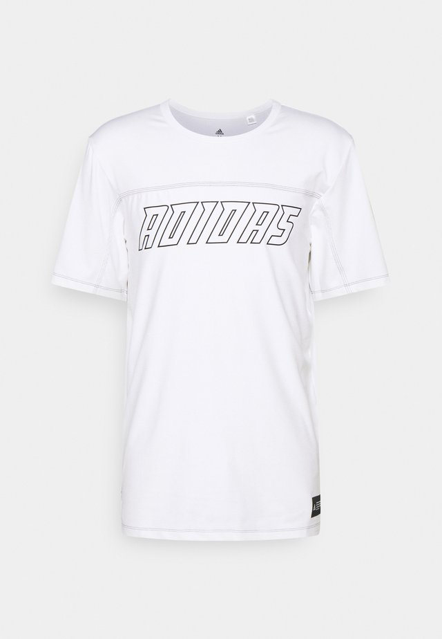 HYPE TEE - Camiseta estampada - white
