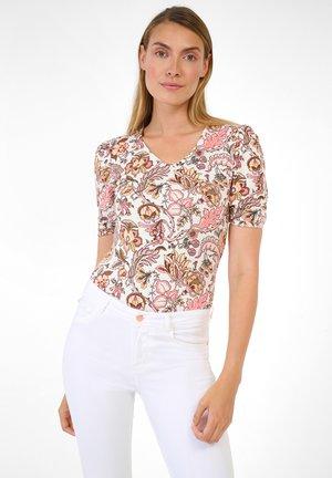 Print T-shirt - helles flamingo