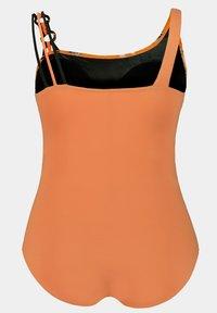 Ulla Popken - Swimsuit - mottled orange - 2