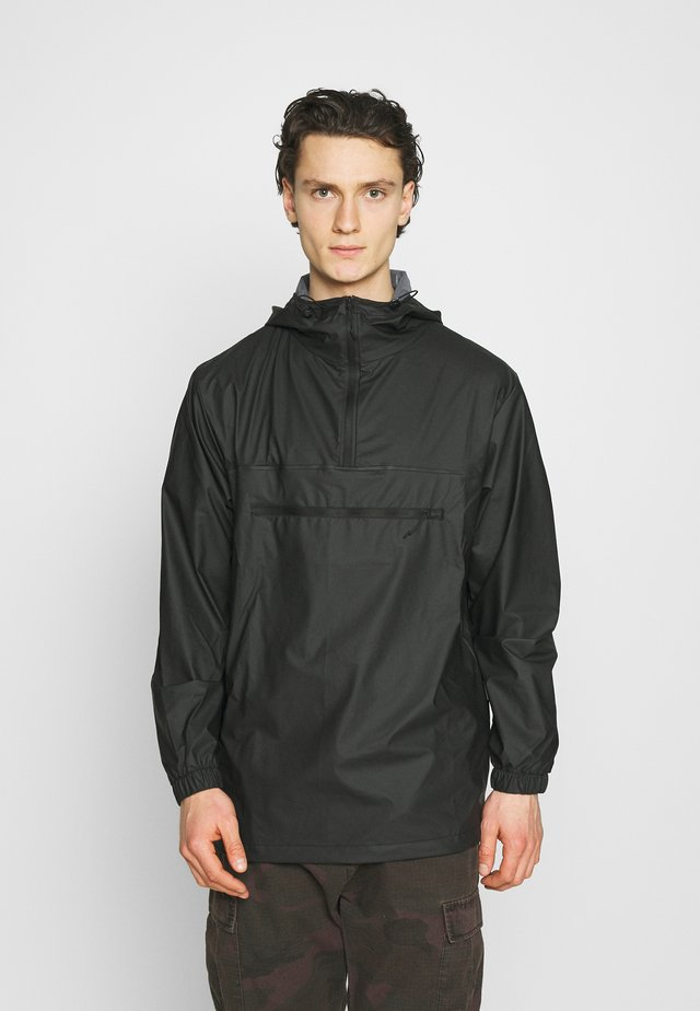ULTRALIGHT ZIP ANORAK UNISEX - Vodotěsná bunda - black