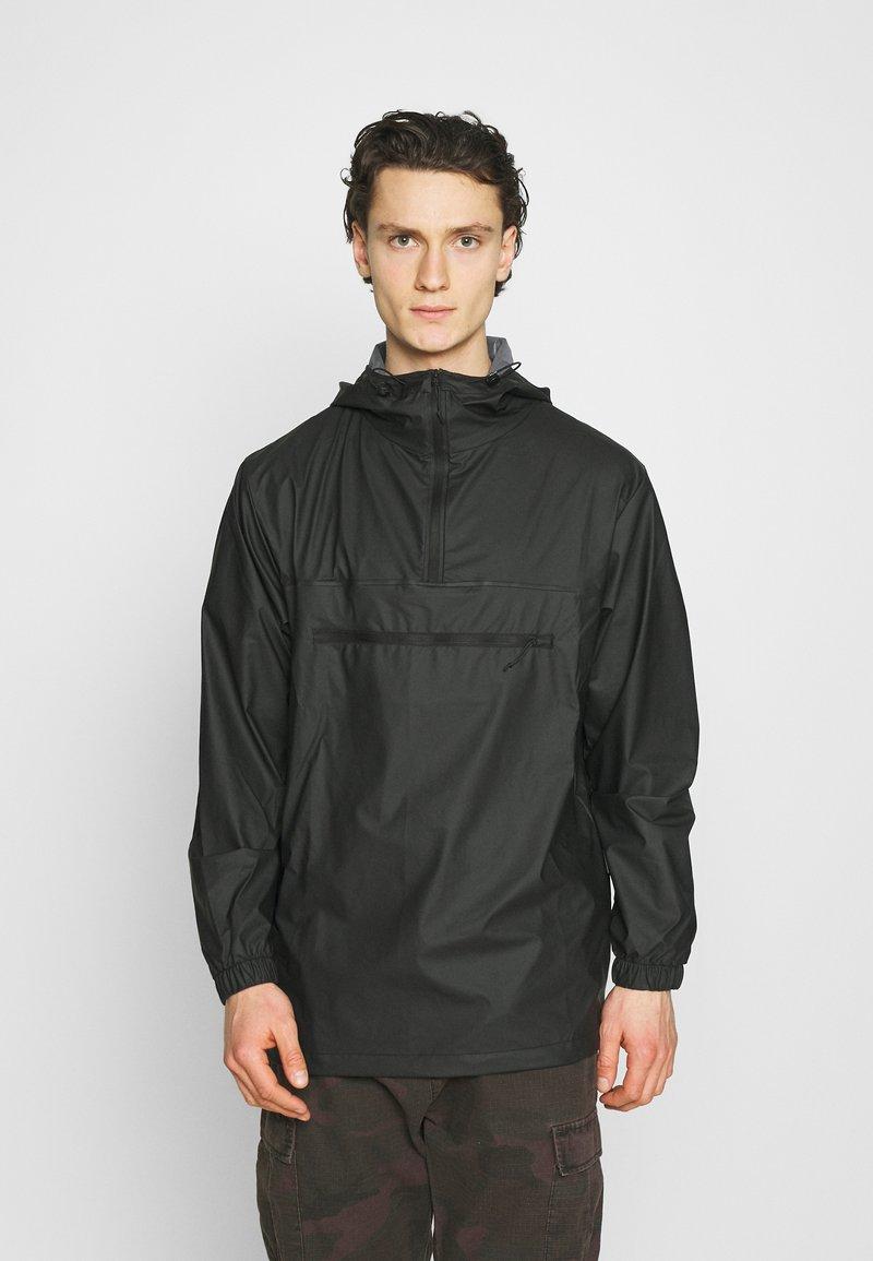 Rains - ULTRALIGHT ZIP ANORAK UNISEX - Regnjakke - black
