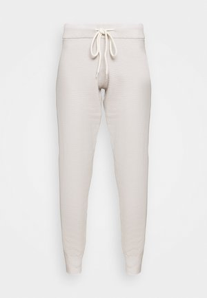 ALICE - Tracksuit bottoms - cobweb silver