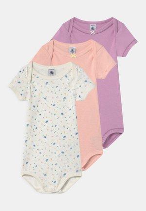 3 PACK - Body - white/pink/purple