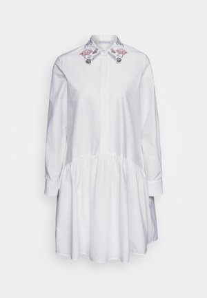 DRESS - Shirt dress - bianco ottico