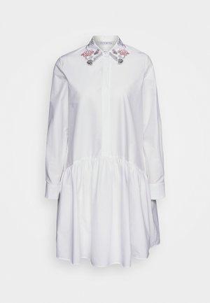 DRESS - Skjortklänning - bianco ottico