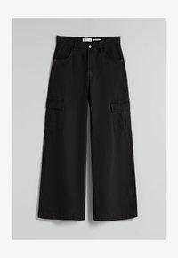 Bershka - Pantaloni cargo - black - 4