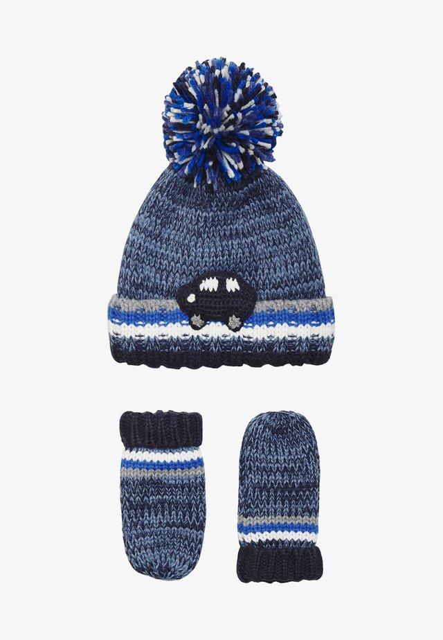 CROCHET CAR - Handschoenen - blue