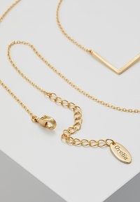 Orelia - CLEAN V NECKLACE - Collar - pale gold-coloured - 2
