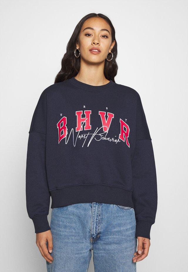 CALI WOMEN - Sweatshirt - navy