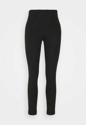 GABARDINE SKINNY - Leggings - Trousers - black