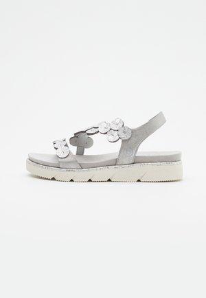 KIKO - Platform sandals - light grey