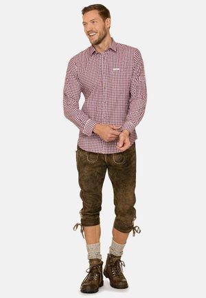 CAMPOS3 - Shirt - bordeaux