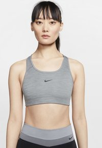 Nike Performance - BRA PAD - Sport-bh met medium support - grey - 0