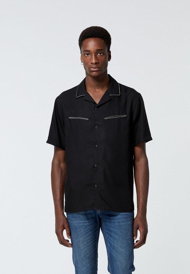 À MANCHES COURTES - Shirt - black