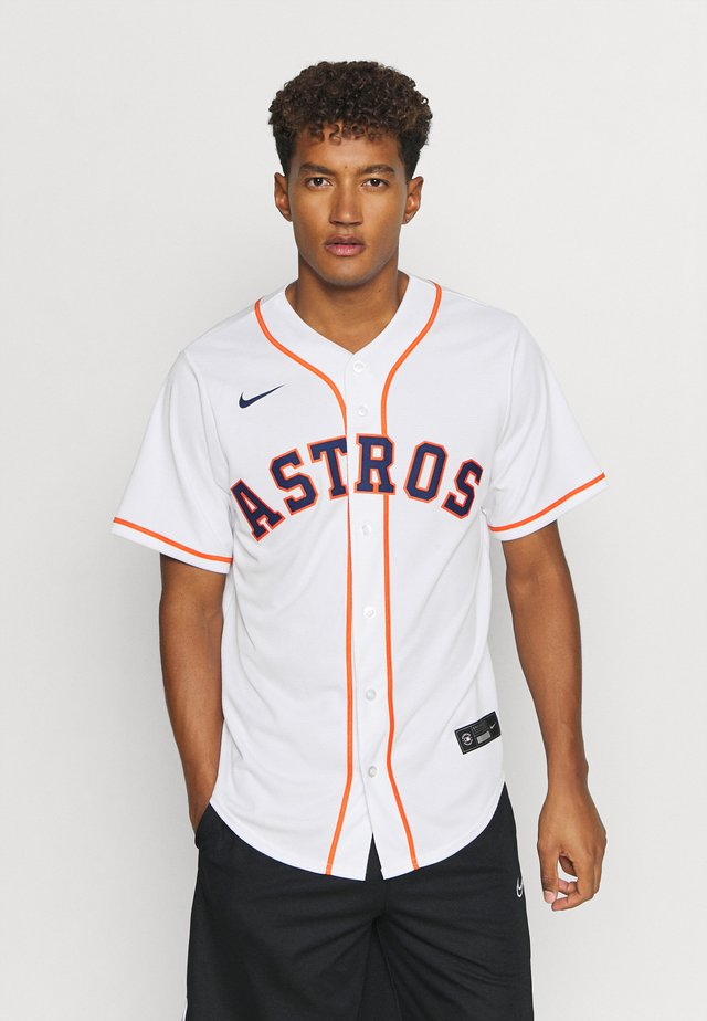 MLB HOUSTON ASTROS OFFICIAL REPLICA ALTERNATE - T-shirt con stampa - white