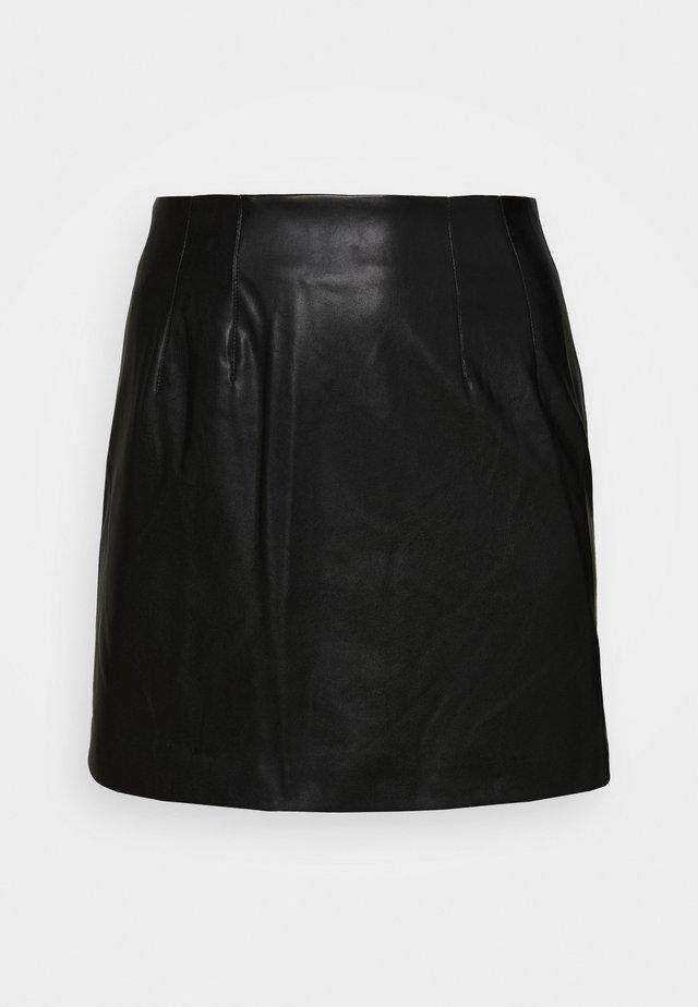 SKIRT - A-lijn rok - black