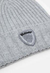 Blauer - BASIC HAT UNISEX - Lue - nebbia melange - 2