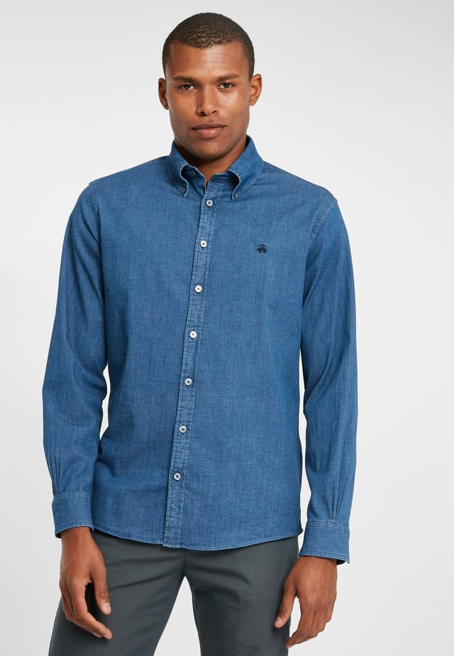 INDIGO STRETCH CHAMBRAY PBD MILANO CHAMBDKBLUE - Shirt - dark blue