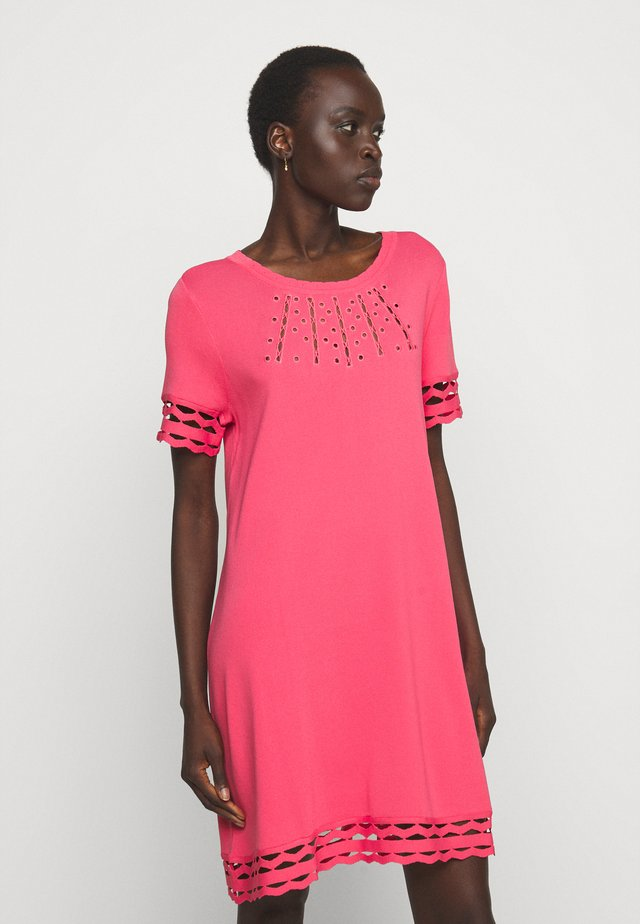 SANGALLO - Jumper dress - rose neon