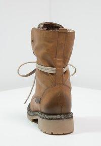 Rieker - Šněrovací kotníkové boty - cayenne/kastanie/braun - 4
