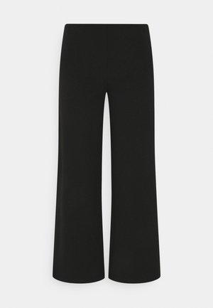 JDYHUGH ANCLE PANT - Trousers - black