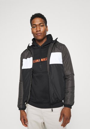 MASSENAPAD - Light jacket - grey/white/black