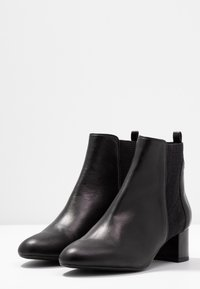 Unisa Wide Fit - LAYER - Ankle Boot - black - 4