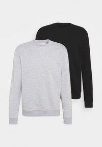 Only & Sons - ONSCERES LIFE CREW NECK 2 PACK - Sweatshirt - black - 0