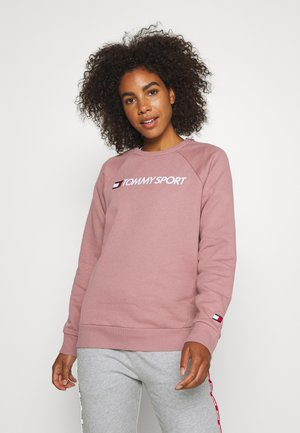 CREW LOGO - Sweatshirt - purple