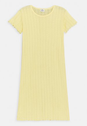 POINTELLA DRIXINA - Jersey dress - pale banana