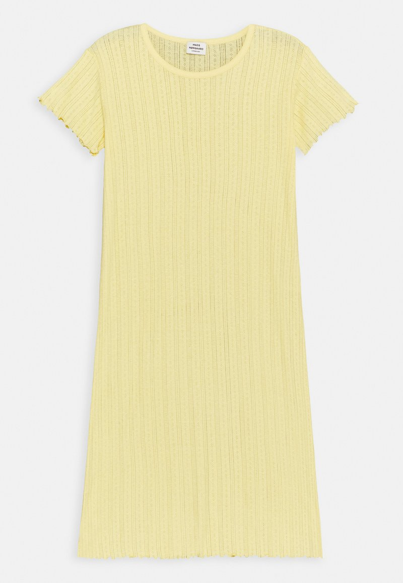 Mads Nørgaard - POINTELLA DRIXINA - Jersey dress - pale banana