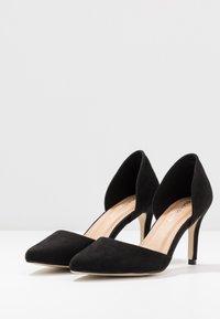 Glamorous Wide Fit - BOB - Escarpins à talons hauts - black - 4