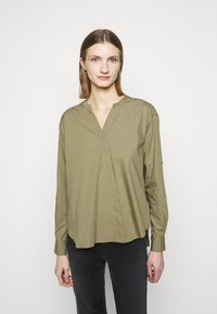 CLOSED - BLANCHE - Blouse - green umber - 0