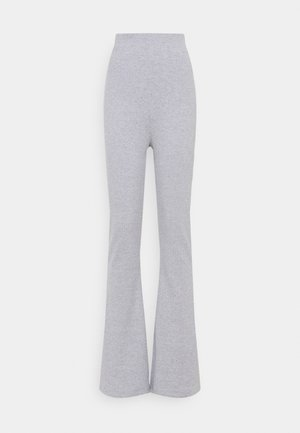 FLARE TROUSER - Trousers - grey
