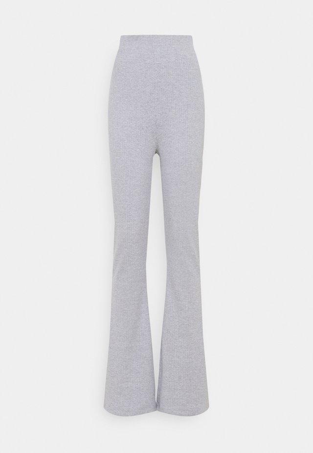 FLARE TROUSER - Pantalon classique - grey