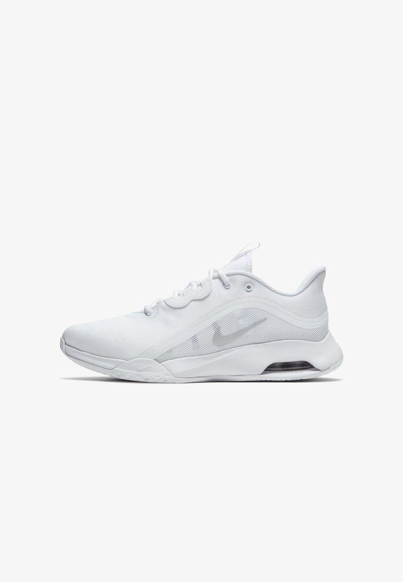 Nike Performance - AIR MAX VOLLEY - Allcourt tennissko - white/silver