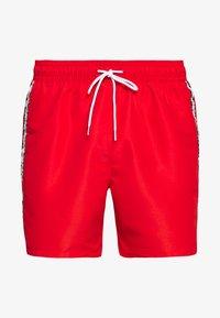 Calvin Klein Swimwear - MEDIUM DRAWSTRING - Swimming shorts - red - 2