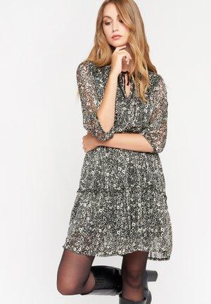 MET BLOEMEN - Day dress - black beauty