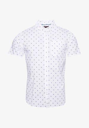 CLASSIC SEERSUCKER  - Shirt - white aop