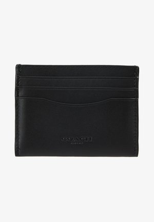 GLOVETAN FLAT CARD CASE - Geldbörse - black