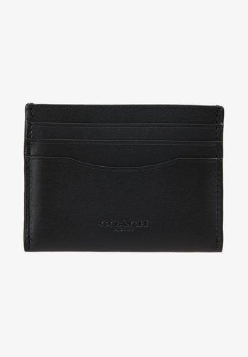 GLOVETAN FLAT CARD CASE - Monedero - black