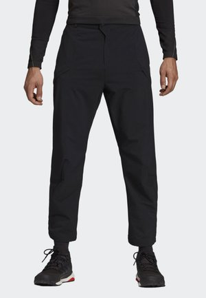 HIKE PANTS - Stoffhose - black