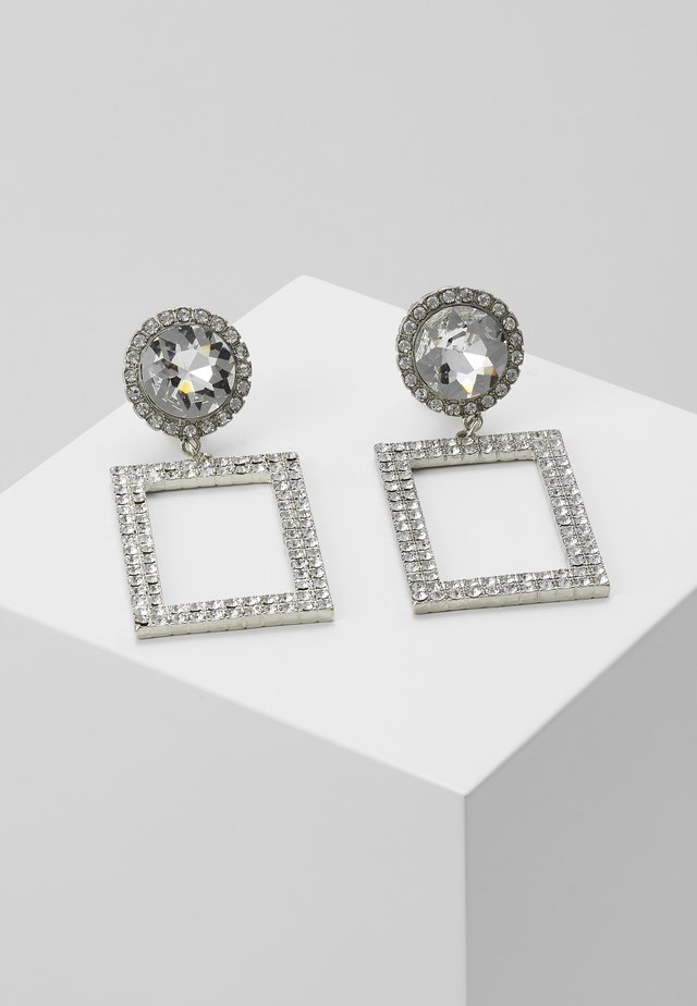 CAYNE - Boucles d'oreilles - silver-coloured