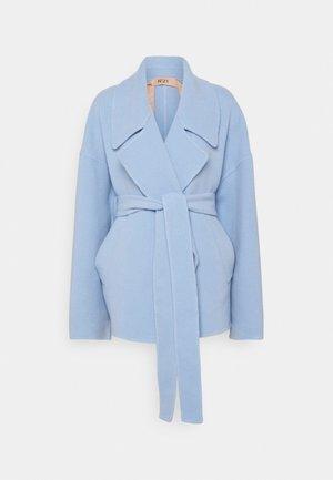 GIACCONE TESSUTO - Classic coat - cielo