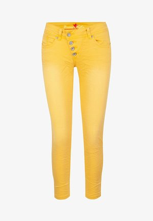 Jeans Skinny Fit - gold